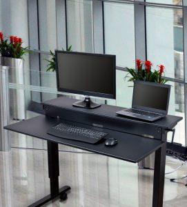 Stand Up Desk Store Höhenverstellbarer Schreibtisch