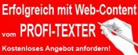Werbebanner Profi-Texter